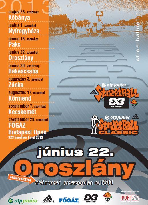 2013 Streetball Oroszlány